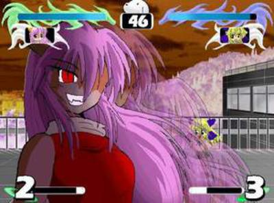 Elfen Lied Fight Game