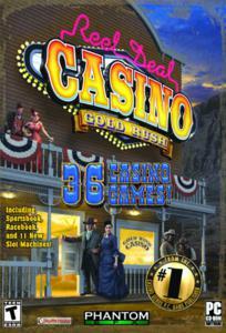 Reel Deal Casino Gold RushОчередной симулятор казино для любителей азарта из серии игр Reel Deal